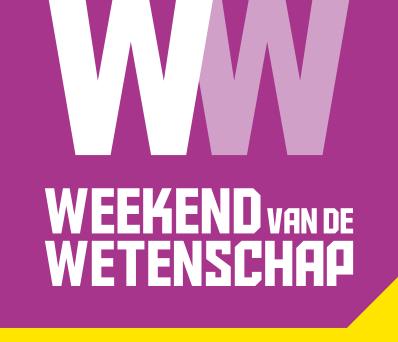 Logo Weekend van de Wetenschap 2018